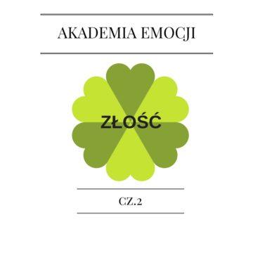 Akademia Emocji Cz. 2. Złość.